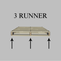 3 runner | three runner custom pallet